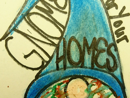 About me and My Shop, Gnomes For Your Homes