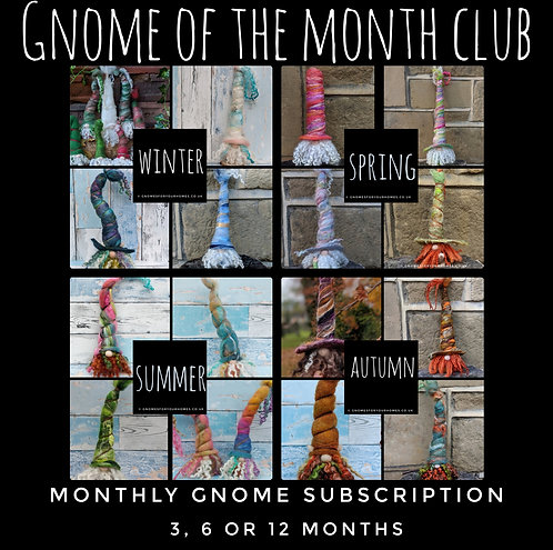 Gnome Ornament of the Month Club