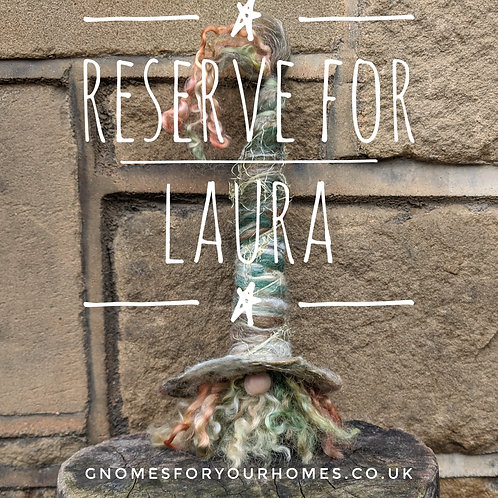 **RESERVED** for Laura