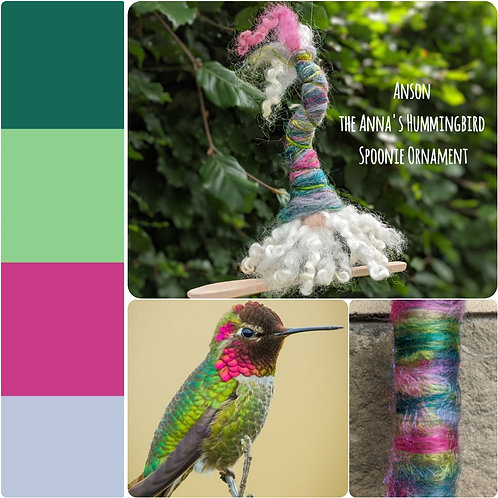Anson of the Anna's Hummingbird Spoonie Gnome
