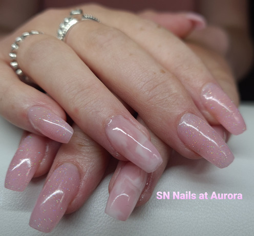 Nude Sculpted Extensions, SN Nails, South Shields