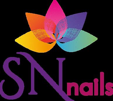 SN Nails logo