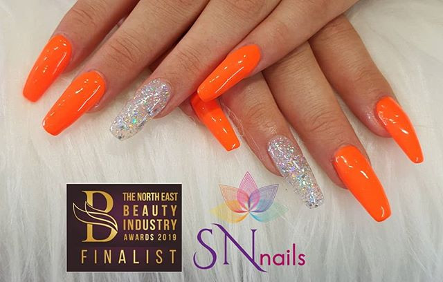 Long sculpted extensions, SN Nails, South Shields