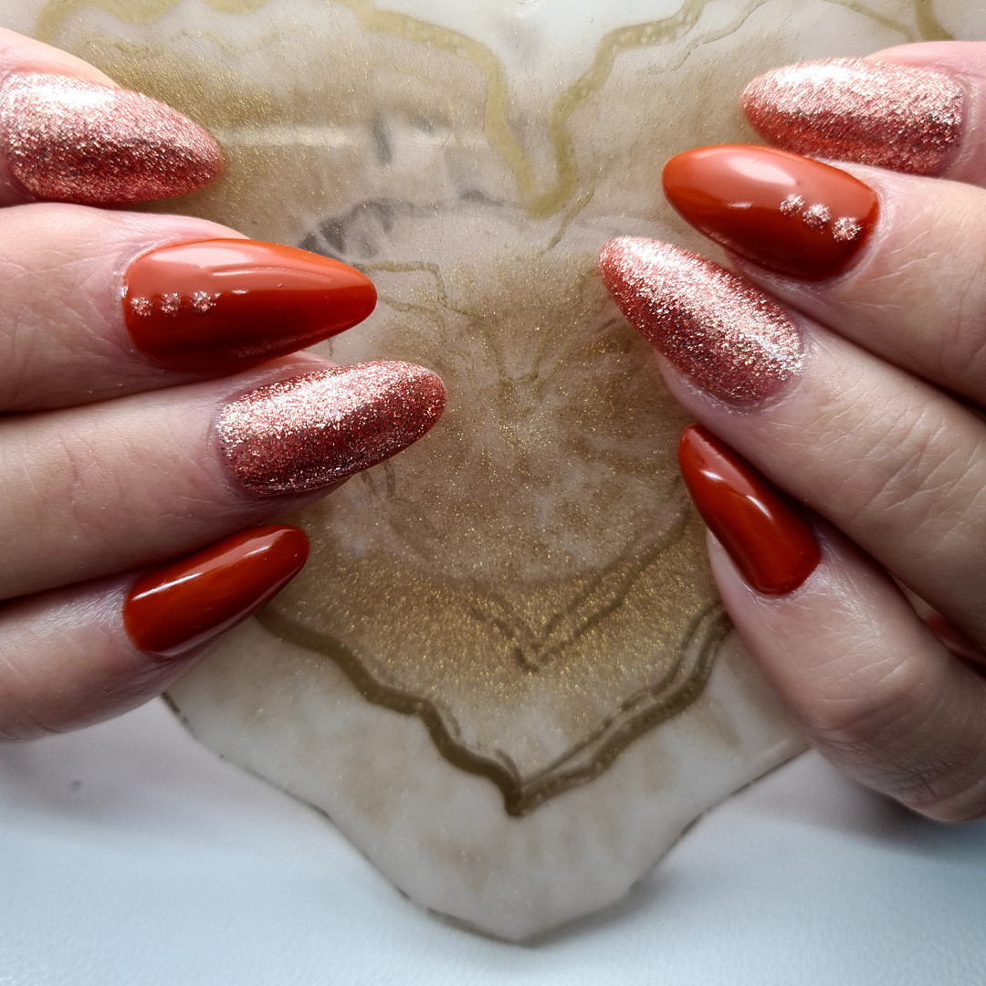 Autumn nails, SN Nails, South Shields