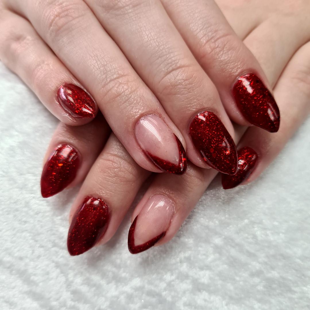 French polish, SN Nails, South Shields