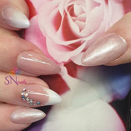 Bridal/Wedding nails, SN Nails, South Shields