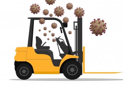 Como limpar e desinfetar sua empilhadeira contra o Coronavírus