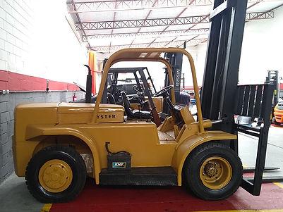 Empilhadeira Hyster H150J diesel forte barata