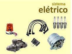 Peças do sistema eletrico da empilhadeira