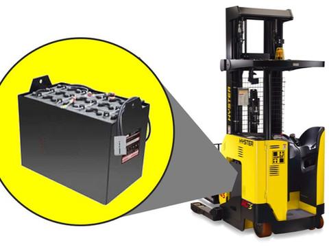 Como evitar diminuição da vida útil da bateria de sua empilhadeira elétrica