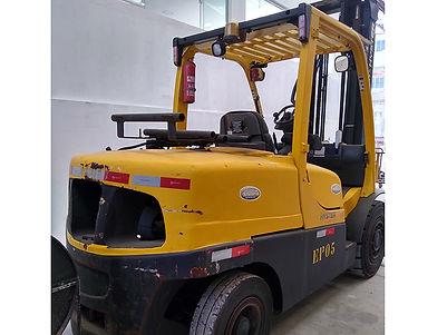 Empilhadeira Hyster H120FT de 6 ton promoção