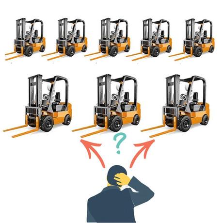 Como comprar uma empilhadeira usada
