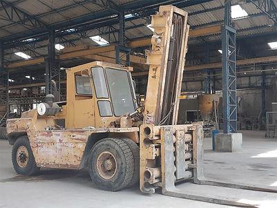 Empilhadeira de 16 ton de grande porte operacional a venda
