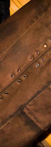 Coat: Lacing Eyelets