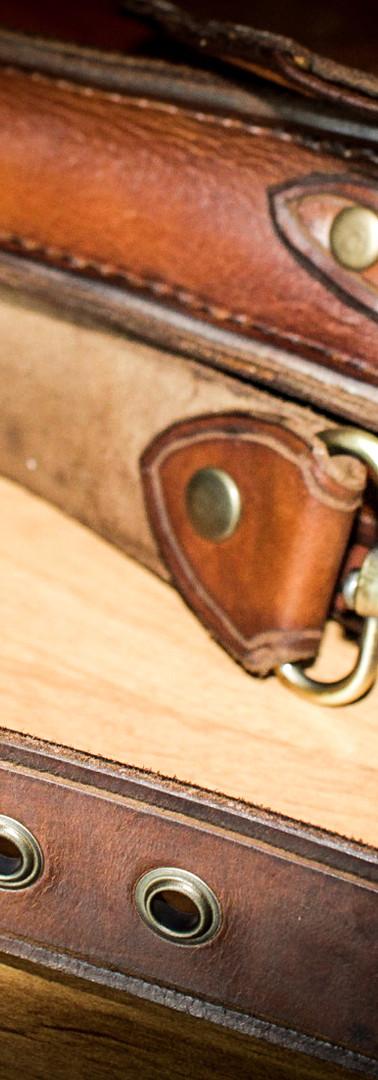 Laptop Bag: Strap Buckle Detail
