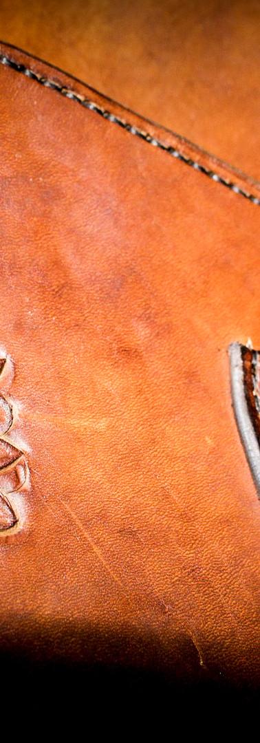 Laptop Bag: Flower Detail