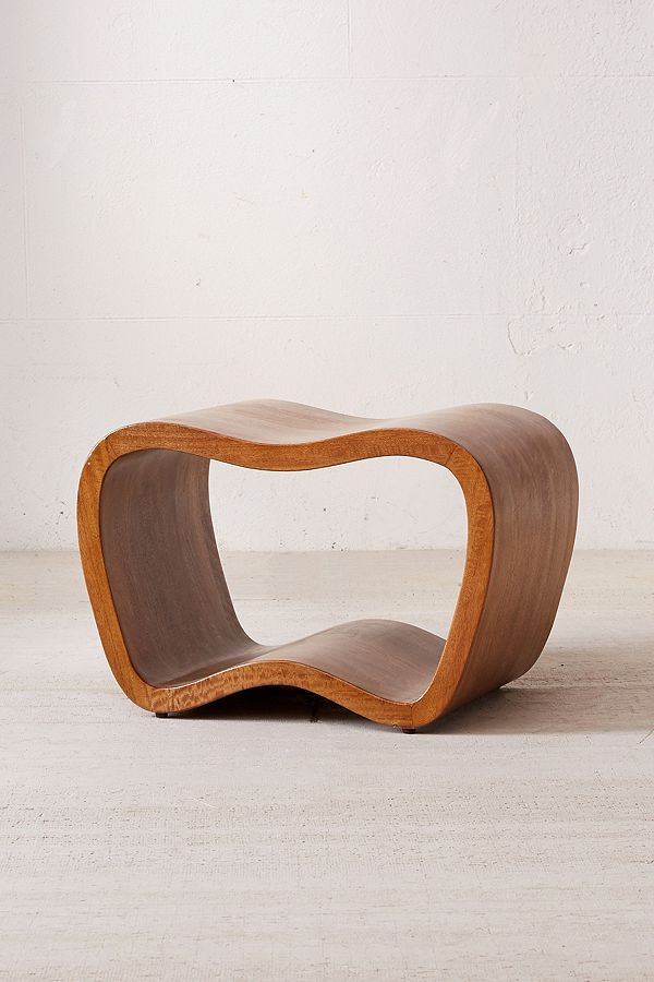 Warped Wood Stool