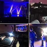 photo materiel camera captation spectacle musical panasonic scène salle de spectacle console
