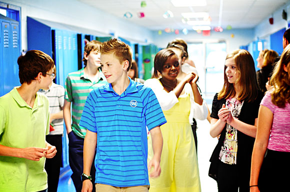 RCS Middle School students