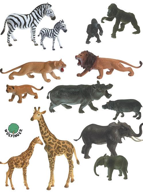 Figurines Africa