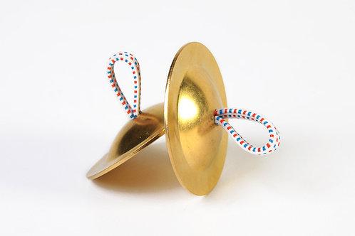 Cymbales en cuivre