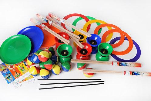 Pack jonglerie 15 enfants