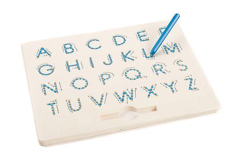 Ardoise magnétique lettres majuscules