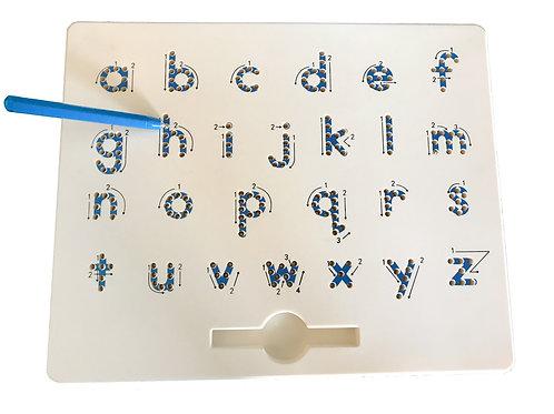 Ardoise magnétique lettres minuscules