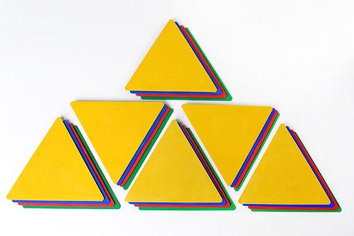 Empreinte triangle
