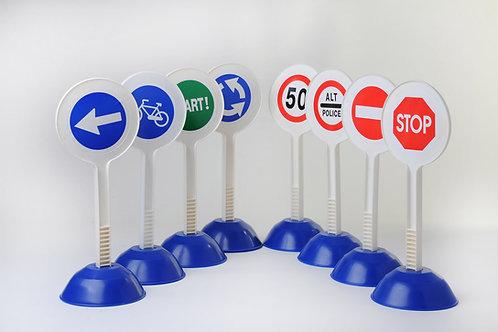 Set code de la route 8 panneaux