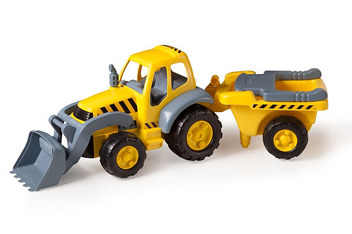 Big tractor avec remorque