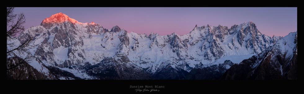 Poster 10 Monte Bianco sunrise.jpg