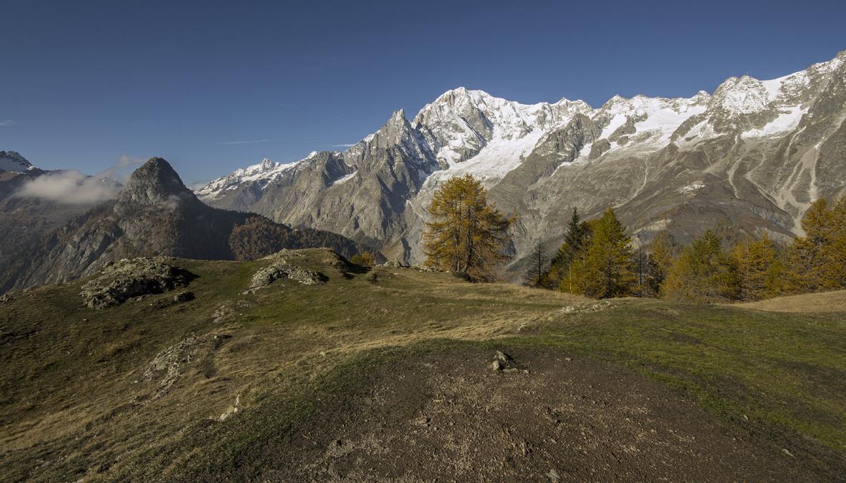 Mont de la Saxe -Courmayeur