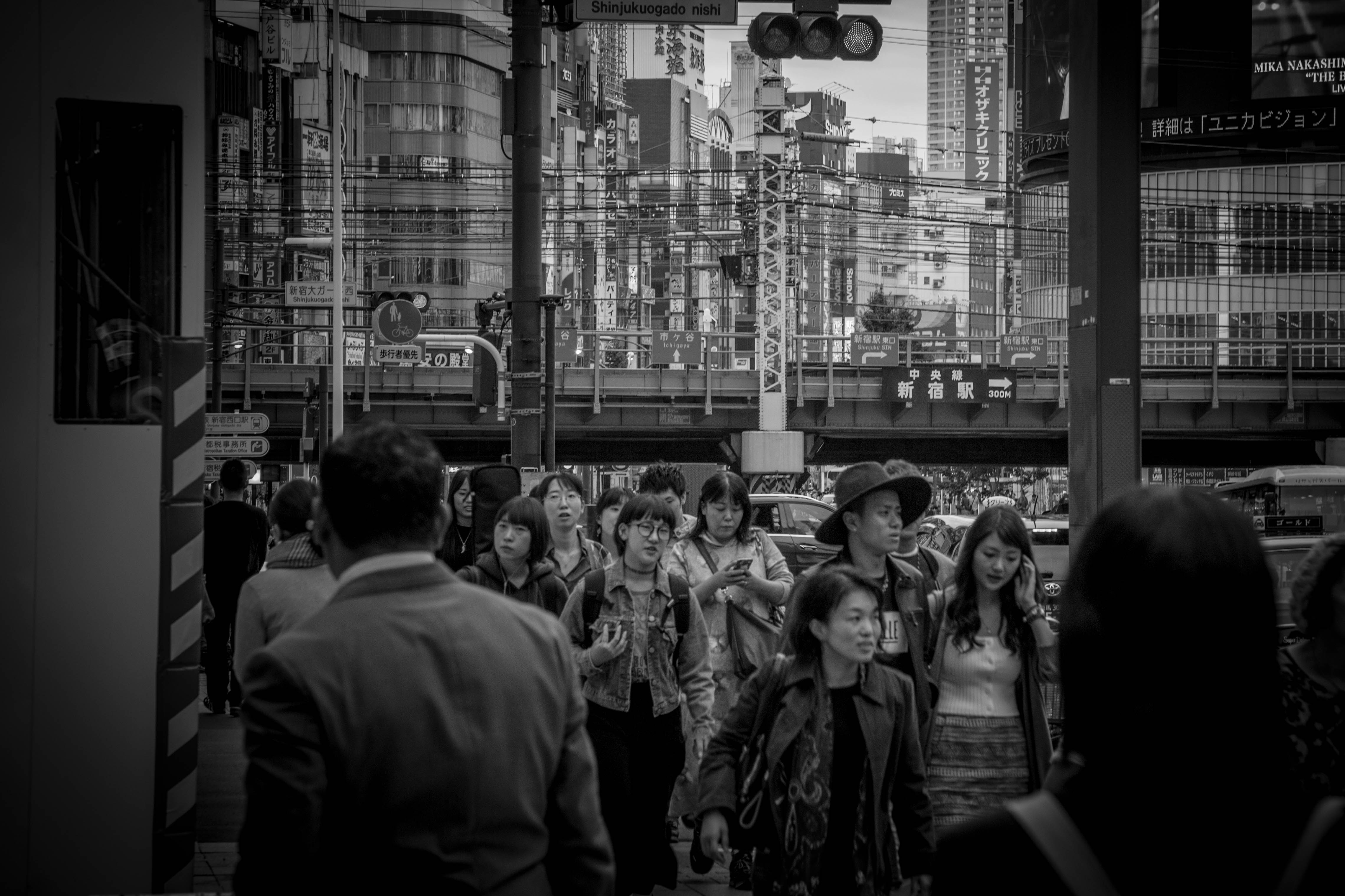 Through Tokyo