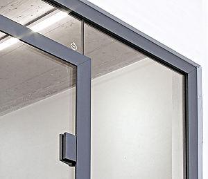 quint-it, Glastrennwand, Zargentür, Profilsystem