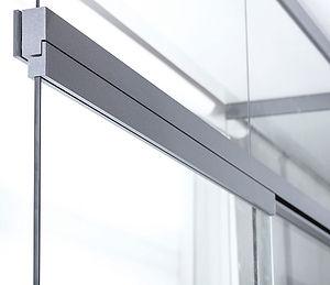 quint-it, Glastrennwand, Schiebetür, Profilsystem