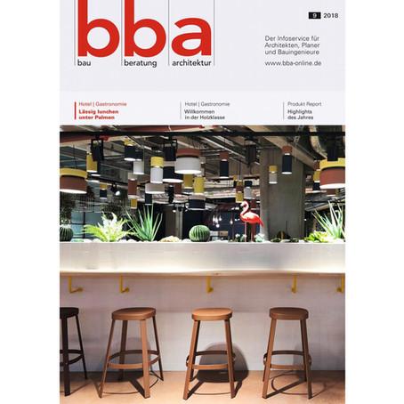 box spaces - Highlight im Produkt Report der bba