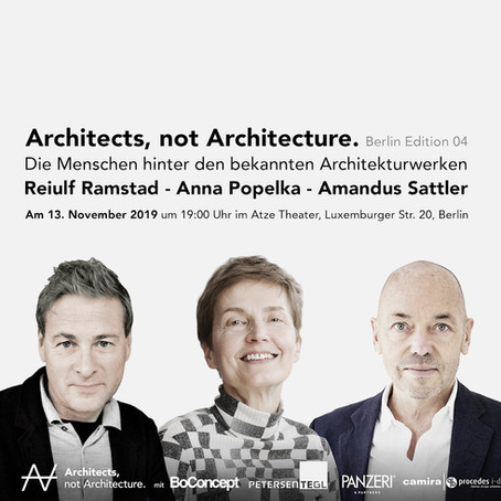 procedes i-d: Proud sponsor of Architects, not Architecture