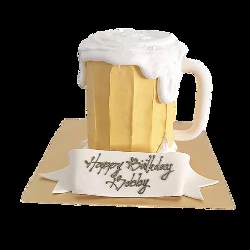 Beer Mug: Emoji Piñata Cake - Chocolate Caramel Flavour