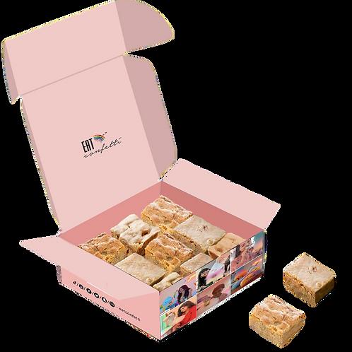 Blondie- White Chocolate Brownie- Box of 6