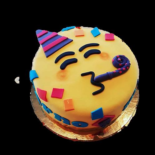 Party: Emoji Piñata Cake - Caramel Flavour