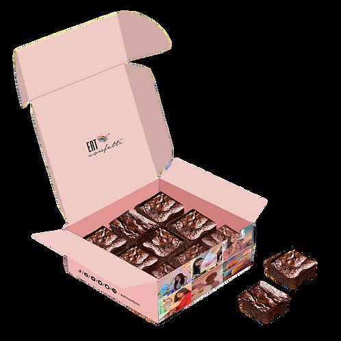 Brownies- Dark chocolate- Box of 6
