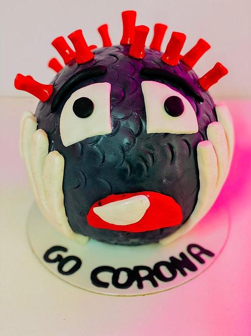 Corona Go-New year Piñata Chocolate Ball Cake inside Cake- 1.5kg