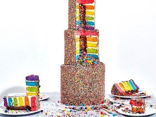 Piñata Wedding Cake- 4kg- Customizable -In Hyderabad Only