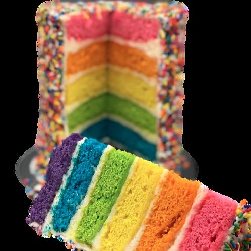 Rainbow NON- Piñata Cake -French vanilla Flavour