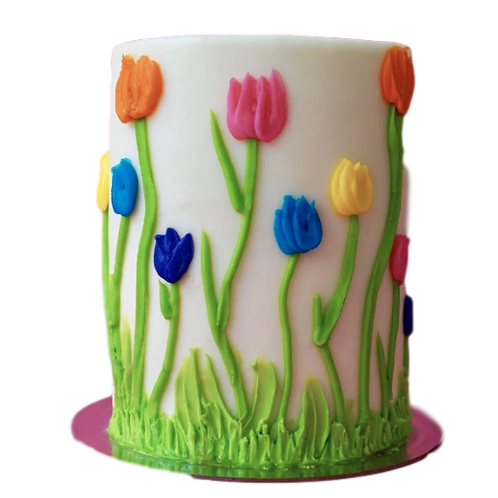 Tulip: Floral Piñata Cake - Strawberry Cream Cheese Flavour