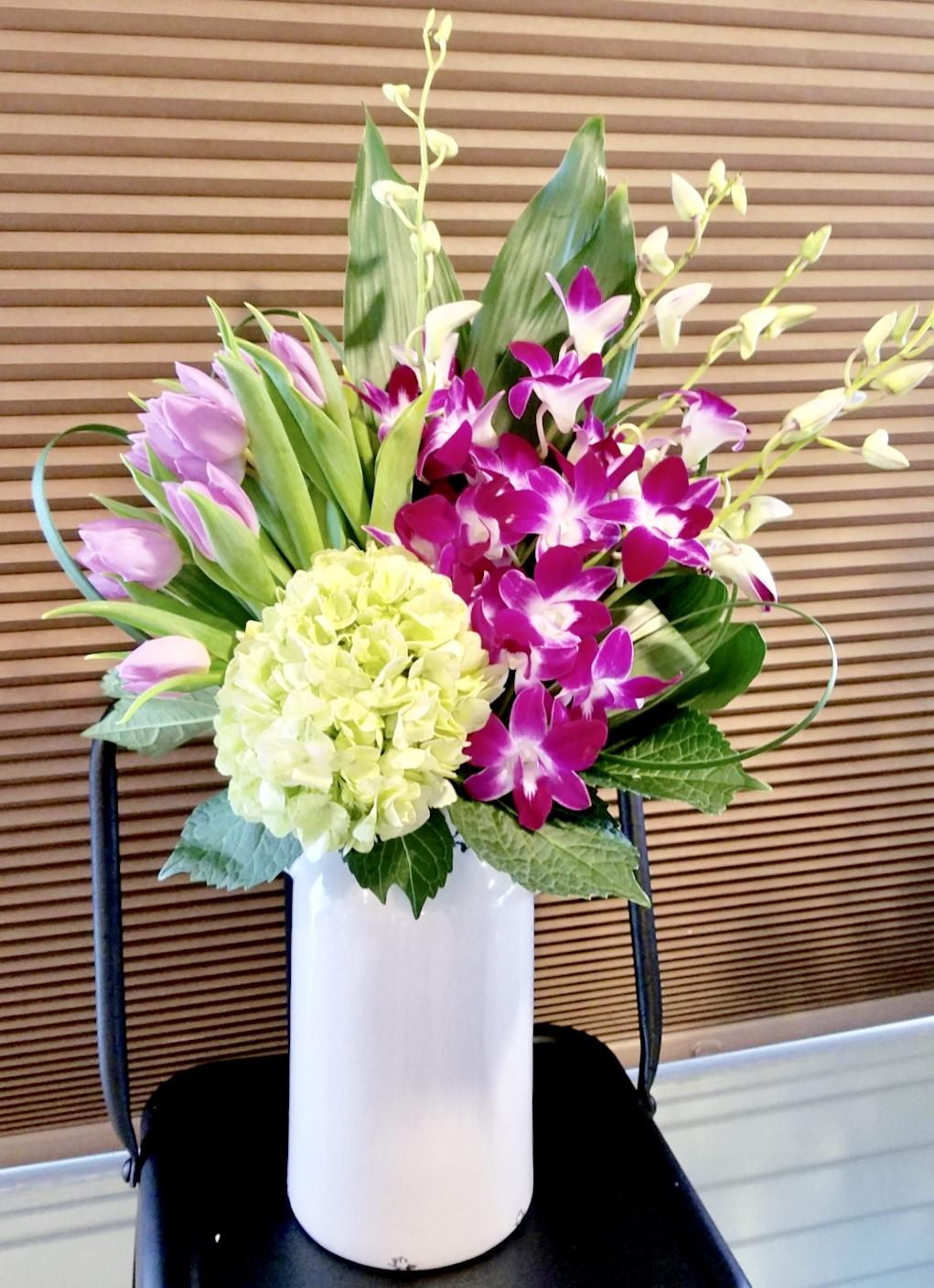 Large Spring Vase Arrangements