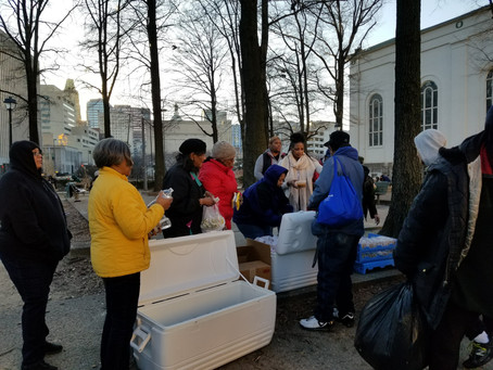 Serving the Homeless in Baltimore