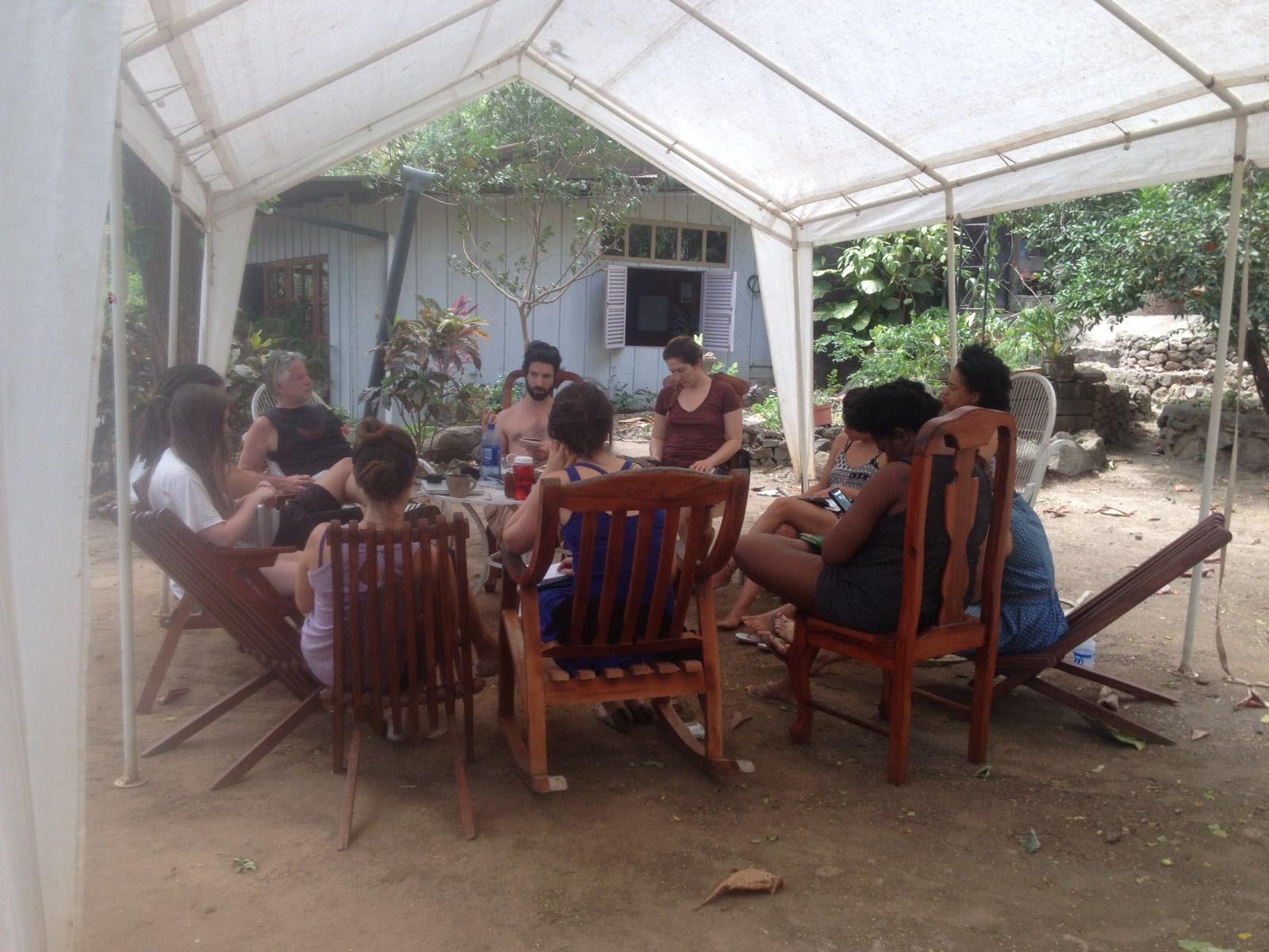 Lama's Artistic Residency in Nicarag