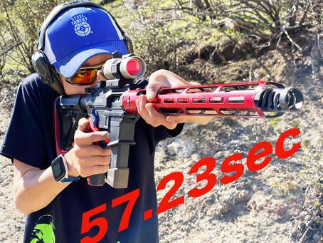 57.23秒!!!🎉
